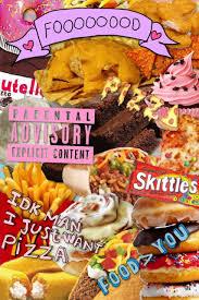 food tumblr collage.  Food Junk Food Collage Tumblr Throughout Pinterest