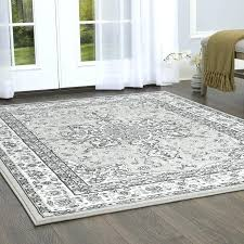 gray cream area rug home traditional medallion