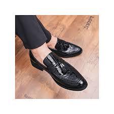 gentleman leather shoes mens tassel italian formal shoes luxury fashion elegant oxford shoes for men dress