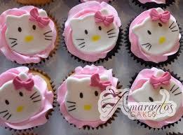 Hello Kitty Cup Cakes Cu06 Amarantos Cakes