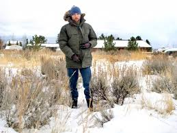 early winter in wydaho in the mcmurdo jacket from the
