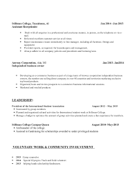 Resume For A Business Owner Samples Of Resumes When you build your business  owner resume you
