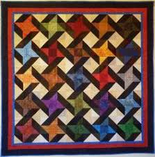 GourmetQuilter - because quilting is delicious! — Wholesale Patterns & Big Block Big Quilt - Entwined using 5 Inch Squares Adamdwight.com