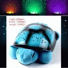 big turtle night sky sleep lamp lampu tidur proyr kura