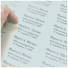 Avery Clear Labels For Wedding Invitations And Clear Return Address