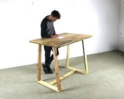 timber office desk. Timber Office Desks. Desk Reclaimed Standing With A Frame Legs All Wood Table