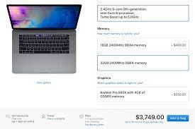 MacBook Pro 2019 nâng cấu hình: 13