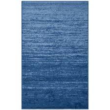 cobalt blue light blue rugs elegant safavieh adirondack vintage ombre light blue dark blue rug 26 x 4