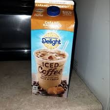 Made with real milk, cream, and cane sugar, it's the same delicious caramel flavor you love with 33% fewer calories than our regular caramel macchiato iced coffee.</p> <p> </p> <p>for over thirty years, international delight has been making the world a tastier place, one cup of coffee at a time. International Delight Caramel Macchiato Iced Coffee 64 Fl Oz Reviews 2021
