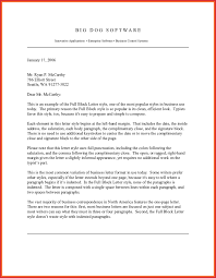 The Business Letter Business Development Letter Sample
