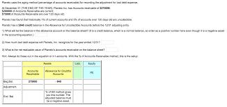 allowance for uncollectible accounts balance sheet the allowance for uncollectible accounts on the balance sheet shows