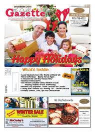 December 2016 gazette by Publisher issuu
