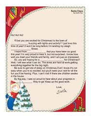 72 Letter From Santa Templates Free To Download In Pdf