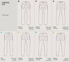 Jeans Cut Guide Teethcat Com
