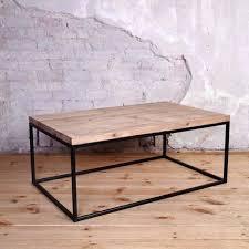 industrial style coffee table black wood coffee table low coffee table trunk coffee table round wood industrial style