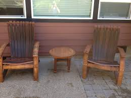 used wine barrel furniture. Wine Barrel Furniture Plans. Oak Adirondack Chair Yourself Home Projects Plans Dma Used T