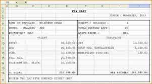Format Salary Slip Unique Salary Receipt Template For A Nanny Handy Format Salary Slip