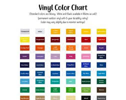 Oracal Vinyl Color Chart Pdf Oracal 651 Vinyl Color Chart Digital Download Svg Png Pdf Etsy