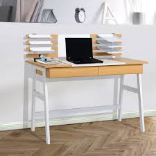 table desks office. Desk:Skinny White Desk Office Table Wood Corner Large Home Desks L
