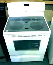 glass top cooktop range covers for glass top glass top e burner not working t smooth glass top cooktop