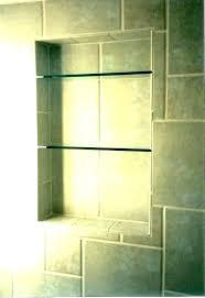shower shelving