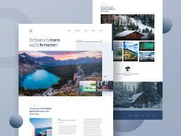 Wyoming Website Design Travel Blog Website Tourism Website Travel Blog Website