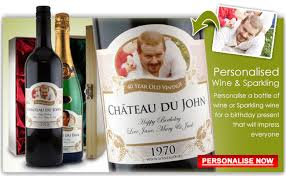 personalised wedding gifts personalised 40th birthday gift wine