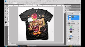 How To Create Design In Photoshop Create Custom Digital Apparel Photoshop Tutorial