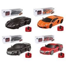 2.4GHZ 4 Channel <b>Remote Control 1:18</b> Car With Lights Assorted ...