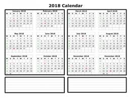Yearly Calendar 2018 Excel Archives Printable Letter Template