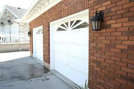 how much to paint garage door how to paint your wood garage door with spray paint