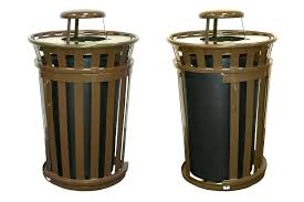 decorative outdoor trash cans decorative outdoor metal trash cans designs decorative patio garbage cans