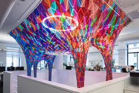 Dazzling Designers New York Behances New York City Headquarters Feature A Dazzling