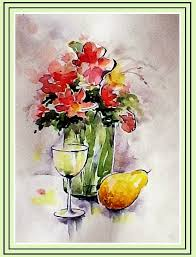 a professional in depth loose pick n mix flower watercolor tutorial you