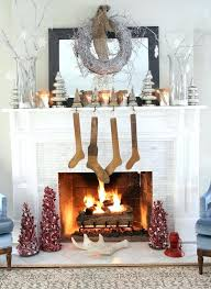 first home christmas decorations uk. smlf · fireplace christmas decorations uk retro ideas decoration having white walls hanging brown classical socks and cool first home r