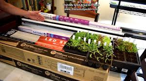 48 Fluorescent Light Fixture Walmart How To Find Use Inexpensive Led Grow Light Tubes Replace Fluorescent Bulbs Reuse Fixtures