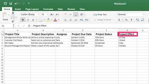 Project Management Spreadsheet Excel Template Free Project ...