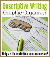 descriptive writing graphic organizer