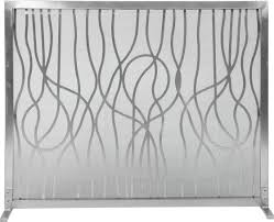 Contemporary Fireplace Screens  HouzzModern Fireplace Screens