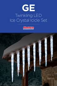 150 Led Icicle Lights Costco Decorate A Larger Area Faster With This 150 Led Tangle Free