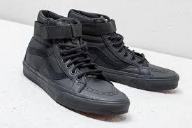 van sk8 hi leather