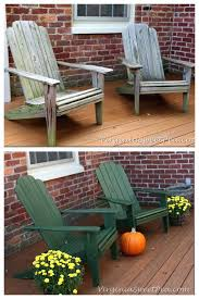 painting outdoor wood furniture chair makeover painting exterior wood furniture