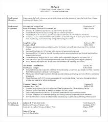 Executive Chef Resume Sample – Resume Tutorial
