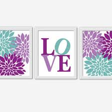 baby girl nursery wall art purple lavender teal flower burst girl room floral wall decor baby on lavender wall art for nursery with baby girl nursery wall art purple from dezignerheartdesigns on