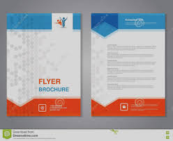 brochure template latest basic brochure template simple triangle and circle flyer