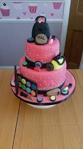 two tier mac makeup cake e celebration 496