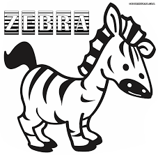 Small Picture Zebra coloring pages Coloring pages to download and print