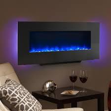simplifire 38 inch linear wall mount electric fireplace sf wms38 bk gas log guys