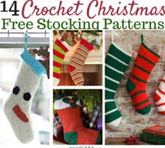 Crochet Stocking Pattern Impressive Crochet Christmas Stockings 48 Free Patterns FaveCrafts