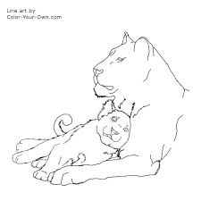 Small Picture Printable 25 Lioness Coloring Pages 7576 Lioness Coloring Pages